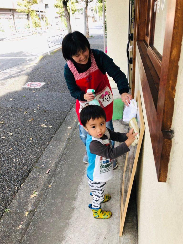 託児付きの職場で子どもの成長を見守る