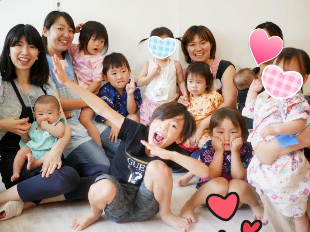 にこにこ親子夏祭り開催しました\(^^)/八王子・託児つきネイルサロン♡