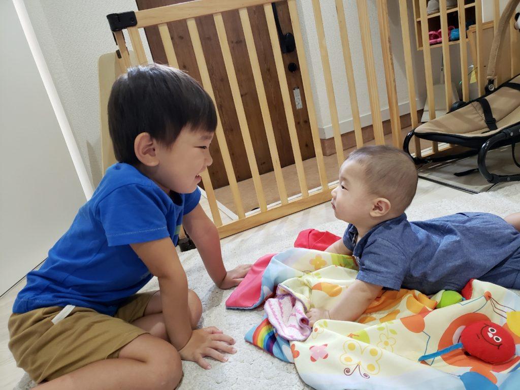 異年齢保育で優しいお兄さんお姉さんに(*^^*)八王子・一時保育