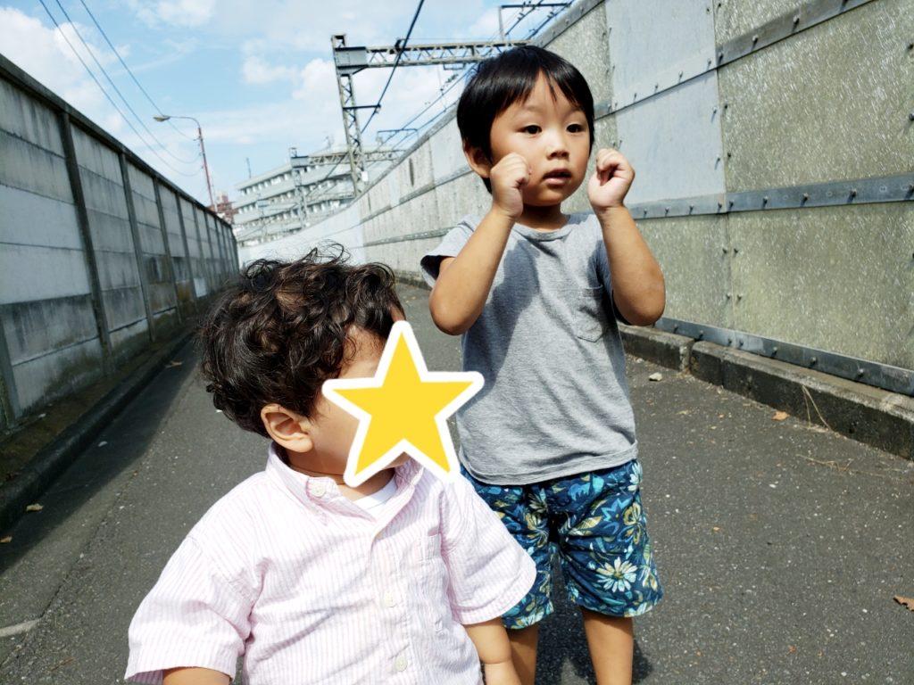 1歳と3歳のお友だち♡仲良くのんびり過ごせたよ♪八王子・託児