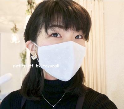 高級シルク布マスクの先行予約を開始しました♪