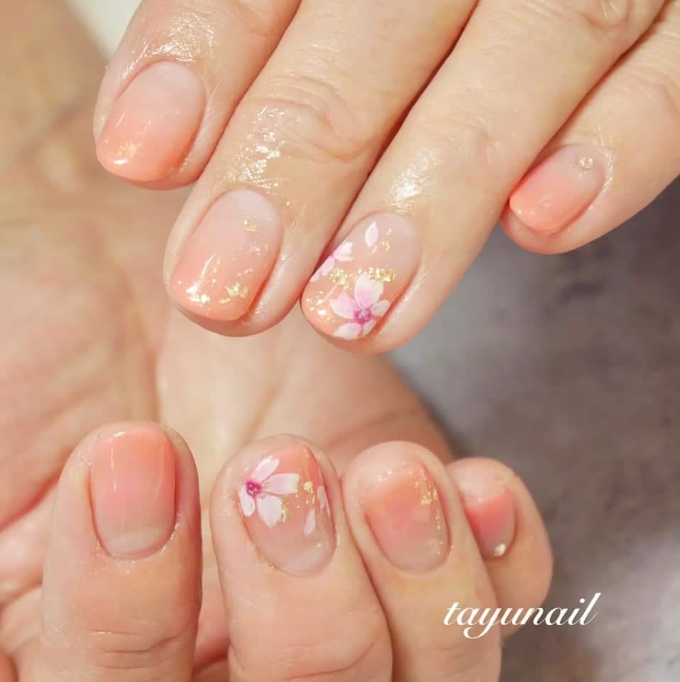 パラジェルの自爪育成効果で美爪に♡♡八王子・子連れOKネイルサロン